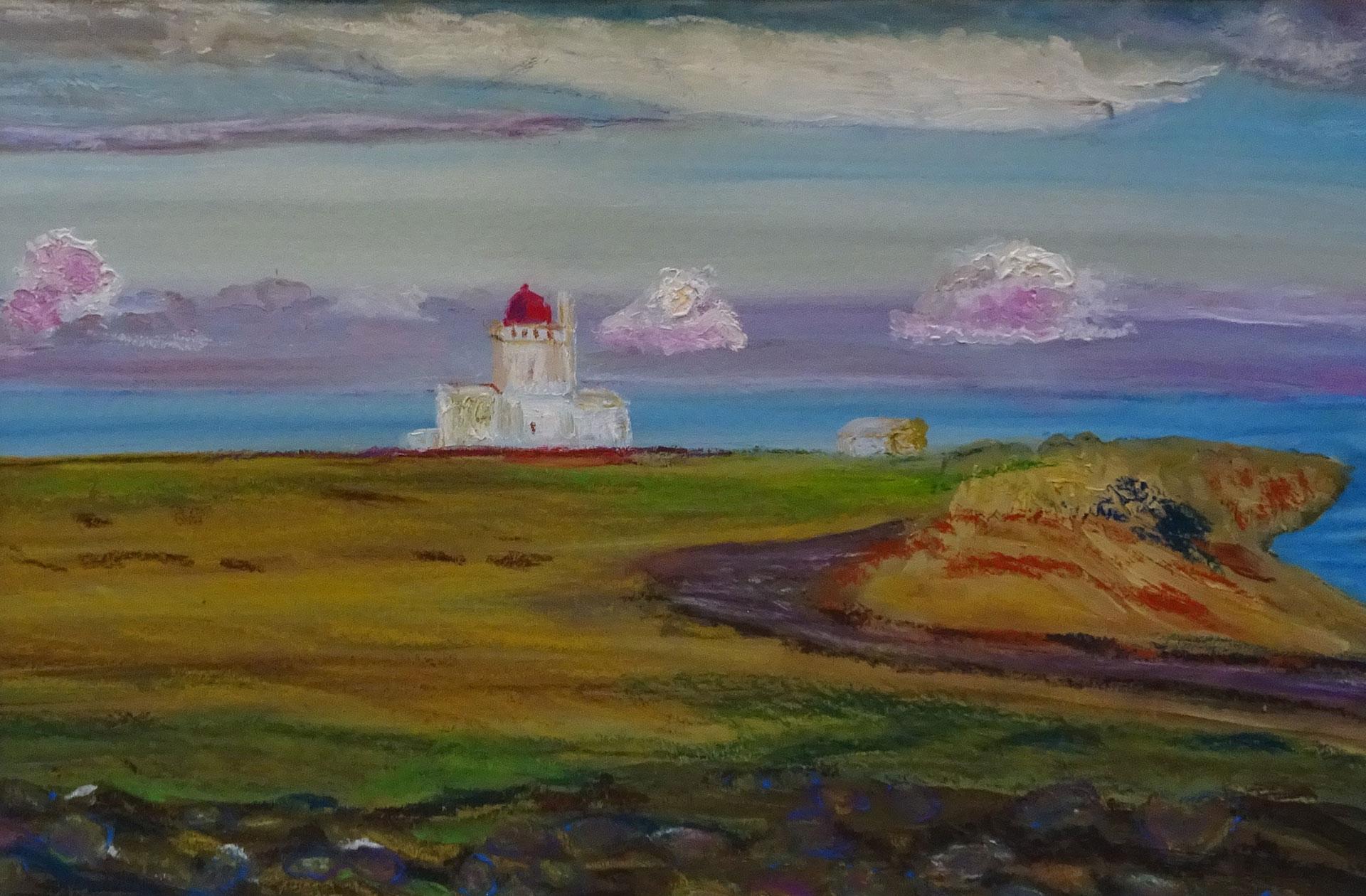 IJsland-vuurtoren-Dyrholaey