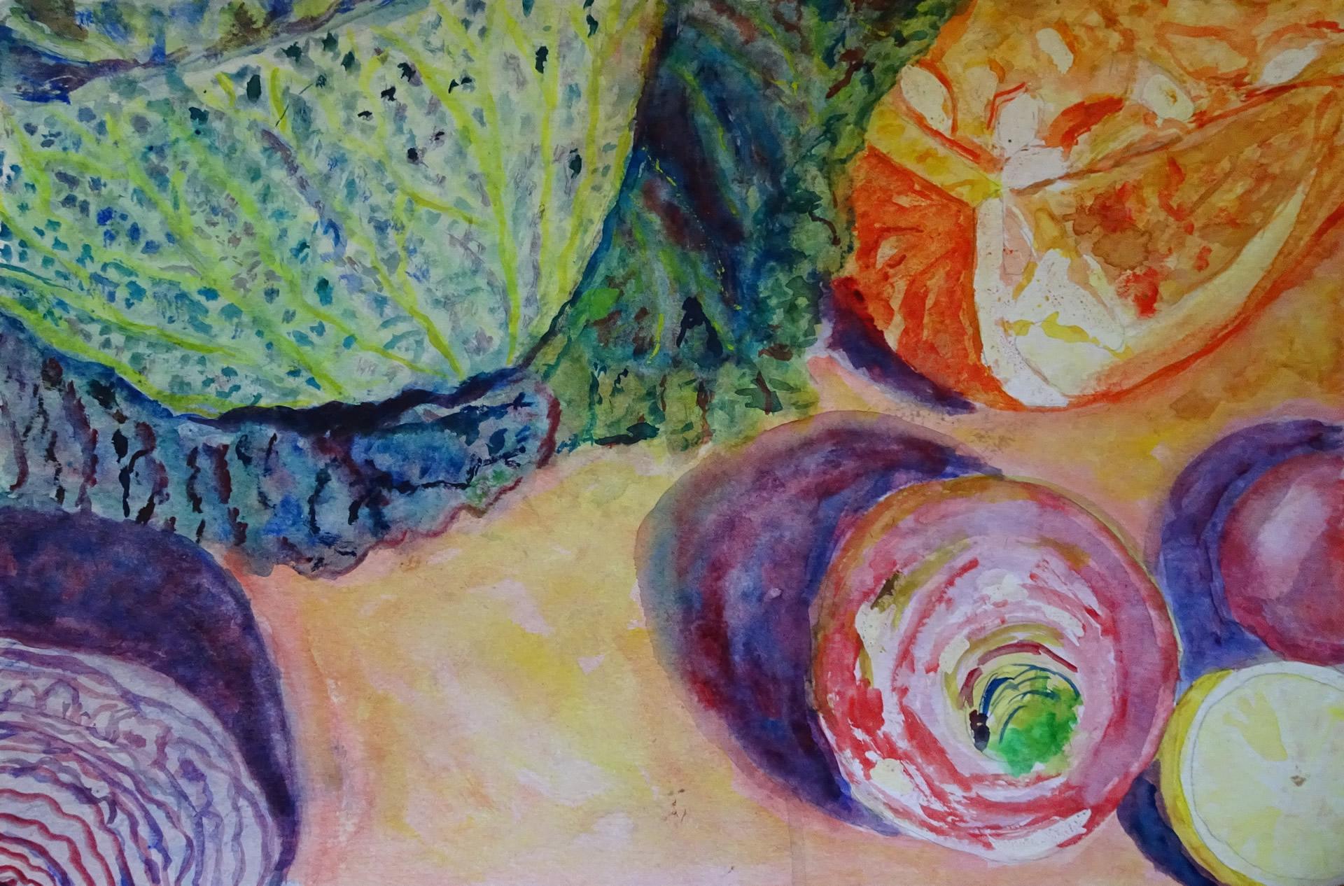 schilderij-groente