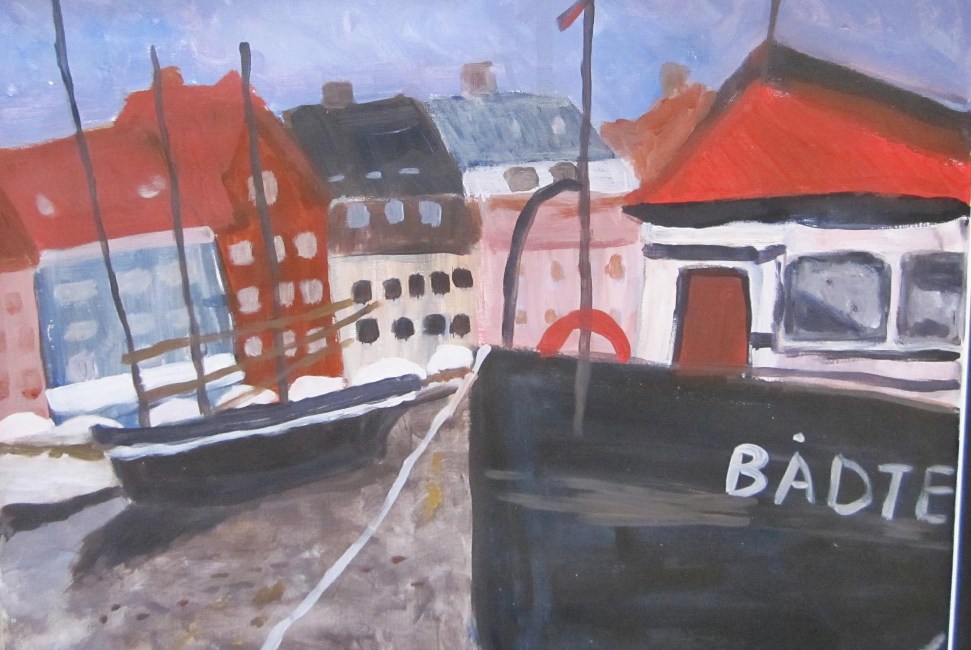 Denemarken-Kopenhagen-haven