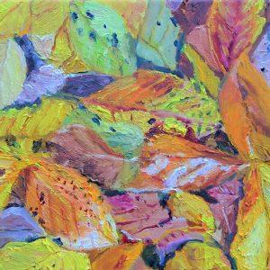 schilderij-herfst-bladeren