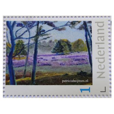 Postzegel Heumense Schans